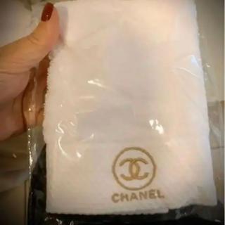 シャネル(CHANEL)のシャネル ノベルティ フェイスタオル2枚セット(タオル/バス用品)