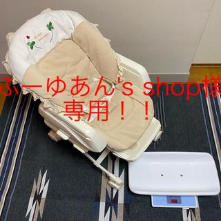 タニタ(TANITA)の【セット売り】コンビ ハイローチェア &タニタ デジタルベビースケール(ベビースケール)
