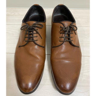 ザラ(ZARA)のZARA 革靴 シューズ ブラウン 茶色 サイズ44(ドレス/ビジネス)