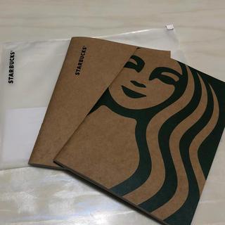 Starbucks Coffee - スターバックス スタバ 海外台湾 サイレンのノート手帳 メモ2冊セット