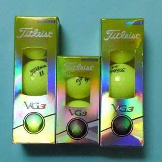 タイトリスト(Titleist)のタイトリストVG3ゴルフボールイエロー8個(その他)