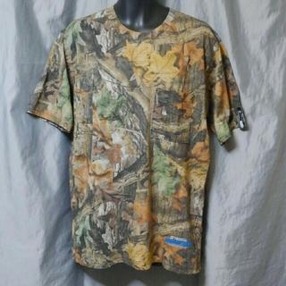 エバーラスティングライド(EVERLASTINGRIDE)のADVANTAGE TIMBER カモフラージュ Tシャツ M 未使用品 (Tシャツ/カットソー(半袖/袖なし))