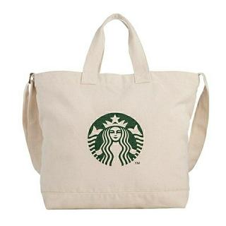 スターバックスコーヒー(Starbucks Coffee)の【台湾オンライン限定】スターバックス 肩掛け🆗キャンバストートバッグ(トートバッグ)