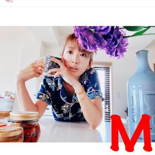 ケイタマルヤマ(KEITA MARUYAMA TOKYO PARIS)のGU  gu ケイタマルヤマ パジャマ ネイビー 花柄 M  サイズ keita(パジャマ)