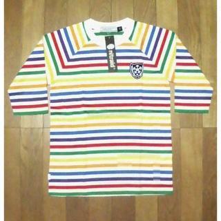 ナイトレイド(nitraid)の未使用タグ付 NITRAID マルチボーダー Tシャツ(ナイトレイド(Tシャツ/カットソー(半袖/袖なし))