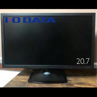 アイオーデータ(IODATA)の美品 2016年製【I.O DATA】フルHD対応20.7型ワイド液晶モニター(ディスプレイ)