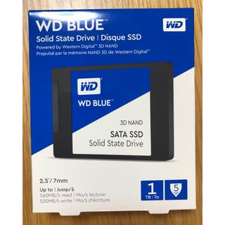 ウエスタンエディション(Western Edition)の新品未開封 WESTERN DIGITAL SSD 1TB WD Blue(PCパーツ)