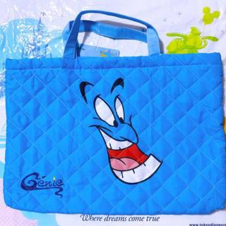 ディズニー(Disney)のジーニー アラジン キルトバック レッスンバッグ 新品(レッスンバッグ)