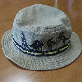 ハッカキッズ(hakka kids)の【ハッカキッズ】 帽子 Mサイズ  恐竜(帽子)
