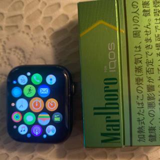 アップルウォッチ(Apple Watch)のApple Watchseles.4.セルラーモデルスペースグレイブラック(ラバーベルト)