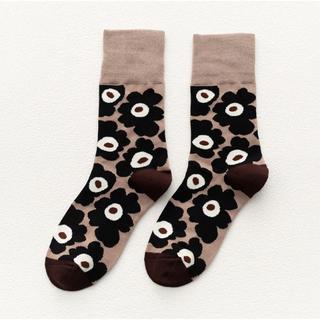 marimekko - ウニッコ柄*靴下