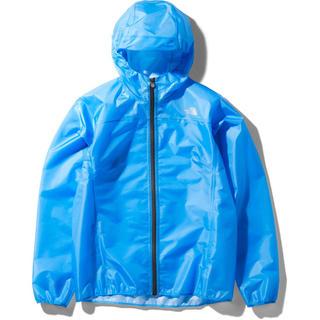 ザノースフェイス(THE NORTH FACE)のTHE NORTH FACE ザ・ノースフェイス 防水ランニングジャケット 青S(ウェア)