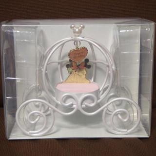 ディズニー(Disney)のミッキー&ミニープリンセス馬車 リングピロー(リングピロー)