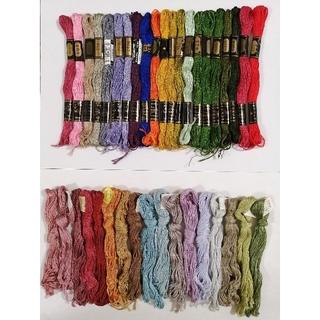 オリンパス(OLYMPUS)の刺繍糸 OLYMPUS★38色38本★set  オリムパス 25番 刺しゅう(生地/糸)