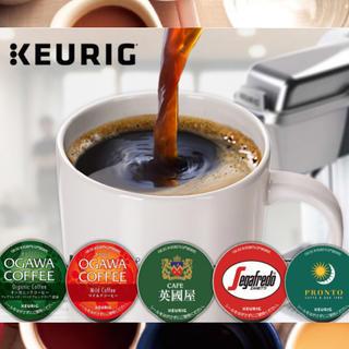 オガワコーヒー(小川珈琲)の数量限定 キューリグ K-CUPカプセル 5種16箱 英國屋 小川珈琲(コーヒー)