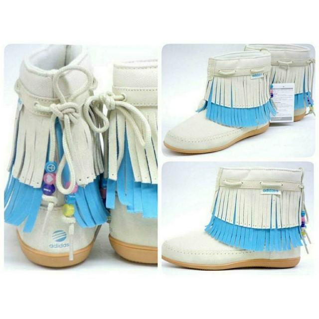 adidas(アディダス)のアディダス adidas QT frill boot キッズダンス チア キッズ/ベビー/マタニティのベビー靴/シューズ(~14cm)(ブーツ)の商品写真