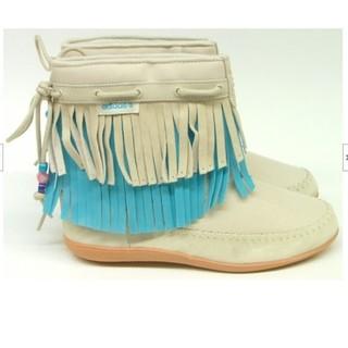 アディダス(adidas)のアディダス adidas QT frill boot キッズダンス チア(ブーツ)