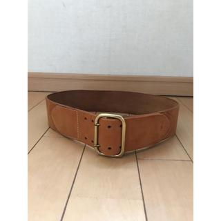 ポロラルフローレン(POLO RALPH LAUREN)のRALPH LAUREN  Leather Wide Belt(ベルト)