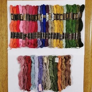 オリンパス(OLYMPUS)の刺繍糸 OLYMPUS★37色37本★set  オリムパス 25番 刺しゅう糸(生地/糸)