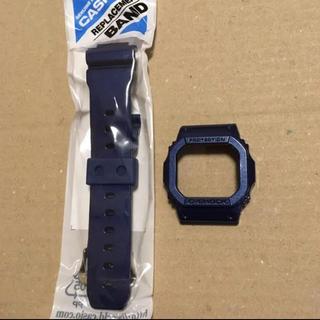 ジーショック(G-SHOCK)のCasio 純正 gw-m5610cc-2 ベルベゼ 青 ブルー ベルト(腕時計(デジタル))