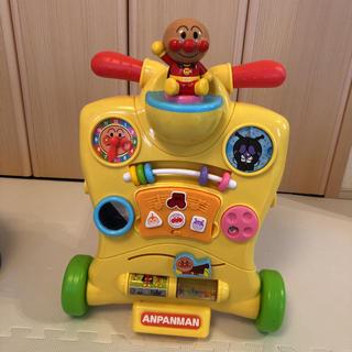 アンパンマン(アンパンマン)のアンパンマン 乗って へんしんウォーカー(手押し車/カタカタ)