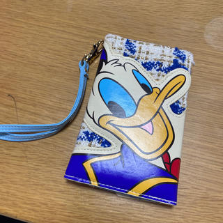 ディズニー(Disney)のディズニー☆ドナルド☆多機能型スマホケース(モバイルケース/カバー)