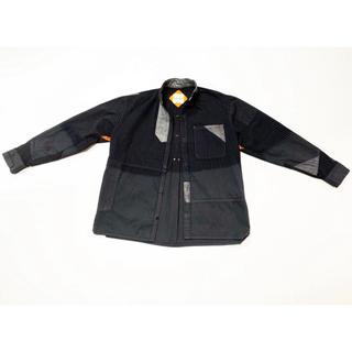 ヴィスヴィム(VISVIM)の定価53000円 30%off硫化染めクレイジーパターンバンドカラーワイドシャツ(シャツ)
