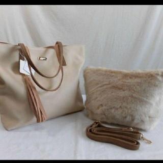 エニィスィス(anySiS)のエニィスィスサブショルダーバッグ付きトートバッグ(トートバッグ)