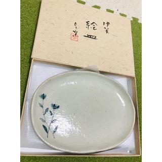伊賀焼 絵皿(陶芸)