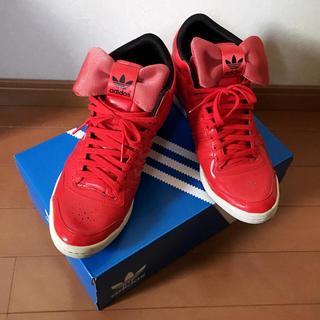 アディダス(adidas)のアディダス リボンスニーカー(スニーカー)