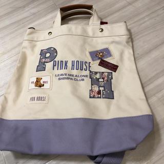 ピンクハウス(PINK HOUSE)のピンクハウスリュック&トートバック(リュック/バックパック)