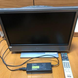 ブラビア(BRAVIA)の値下げ!SONY 液晶TV20型BRAVIA KDL-20J3000ゲーム用に!(テレビ)