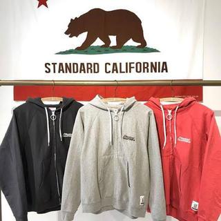 STANDARD CALIFORNIA - SD US Cotton Zip Hood Sweat