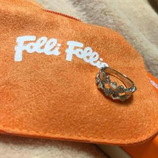 フォリフォリ(Folli Follie)のフォリフォリ クローバー リング(リング(指輪))