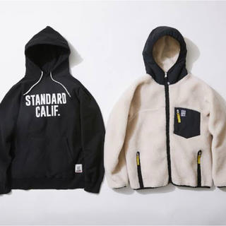 STANDARD CALIFORNIA - SD US COTTON PULLOVER HOOD SWEAT GO OUT