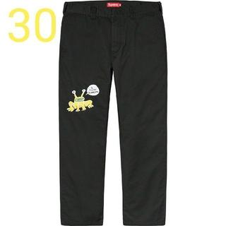 シュプリーム(Supreme)のSupreme Embroidered Work Pant 30(ワークパンツ/カーゴパンツ)