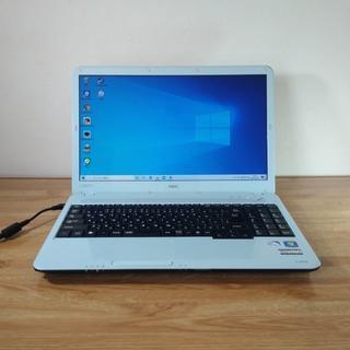 エヌイーシー(NEC)の【エアリーブルー】女性にお勧めの人気のあるNECノートパソコン(ノートPC)