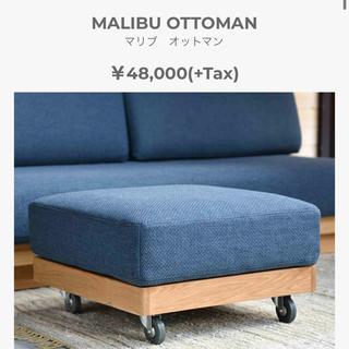 ダブルティー(WTW)のWTW マリブオットマン 定価51840円(オットマン)