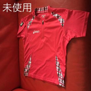 アシックス(asics)の未使用 asics 卓球 ゲームシャツ(卓球)