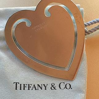 ティファニー(Tiffany & Co.)のティファニーハート型シルバーブックマーク マネークリップ(マネークリップ)