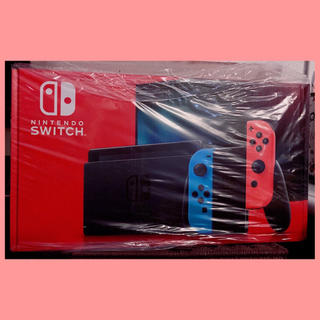 ニンテンドースイッチ(Nintendo Switch)の【新品】ニンテンドースイッチ ネオン 本体 (ネオンブルー/ネオンレッド)(その他)
