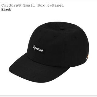 シュプリーム(Supreme)のCordura® Small Box 6-Panel Black(キャップ)