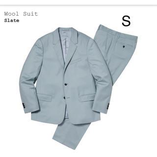 シュプリーム(Supreme)のWool Suit supreme jacket S(セットアップ)