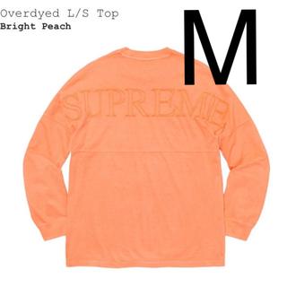 シュプリーム(Supreme)の【送料込】Supreme Overdyed L/S Top M(Tシャツ/カットソー(七分/長袖))