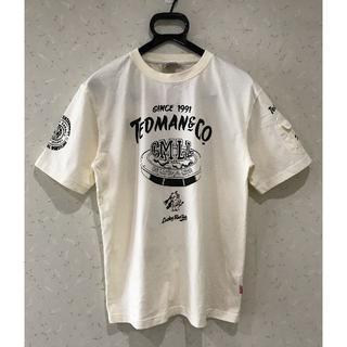 テッドマン(TEDMAN)の*テッドマン エフ商会 テッドカンパニー マスクマン プリント 半シャツ 40(Tシャツ/カットソー(七分/長袖))