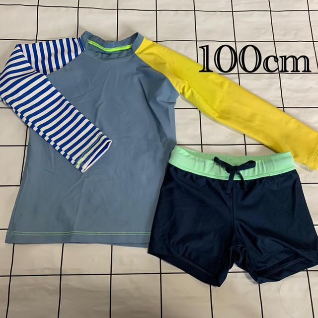 こどもビームス(コドモビームス)のラッシュガード 水着 サイズ100cm キッズ/ベビー/マタニティのキッズ服男の子用(90cm~)(水着)の商品写真