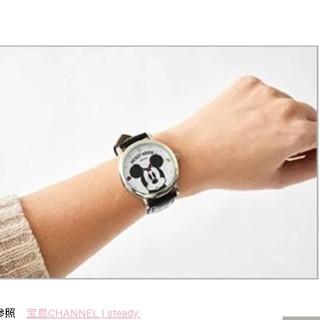 ミッキーマウス(ミッキーマウス)のsteady付録ミッキーマウス腕時計(その他)