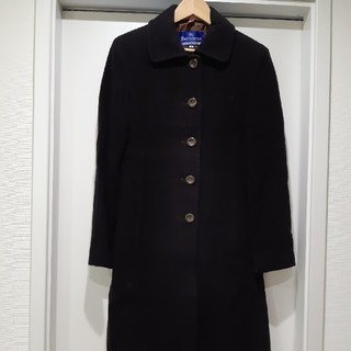 BURBERRY BLUE LABEL - BURBERRY BLUE LABEL  ロングコート ブラウン
