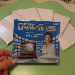 NEC - 未使用!! DVD-R 5PACK