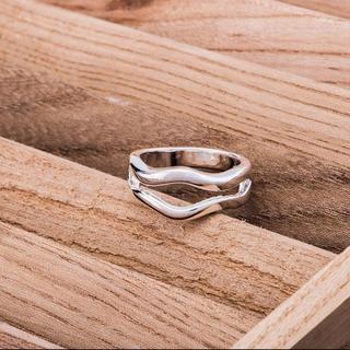 ビューティアンドユースユナイテッドアローズ(BEAUTY&YOUTH UNITED ARROWS)の大人気なため再入荷!tear drop ring silver925 (リング(指輪))
